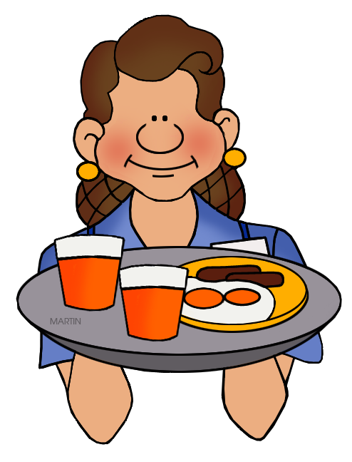 occupations clip art by phillip martin waitress rh occupations phillipmartin info waitress clipart free waitress clipart png
